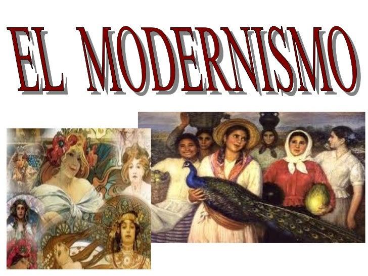 Lírica modernista