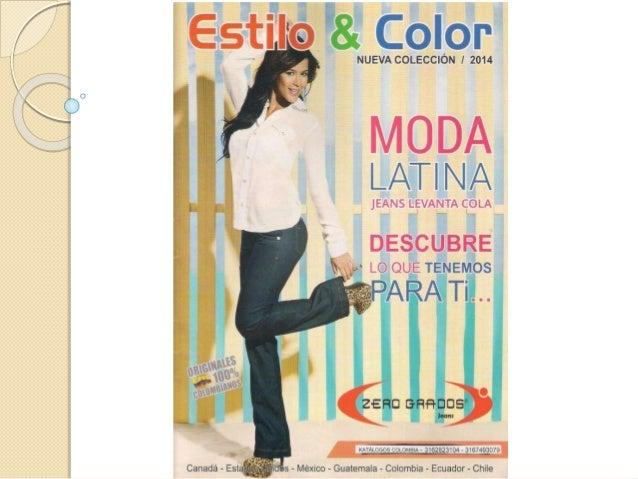 Presentación moda latina