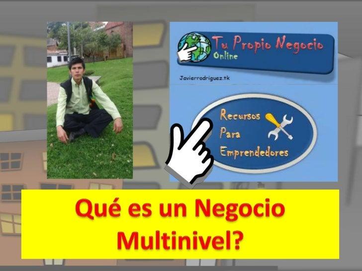 Negocio Multinivel