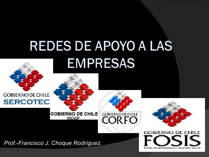 Prof.-Francisco J. Choque Rodríguez.