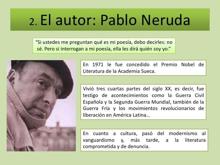 Pablo Neruda quien es
