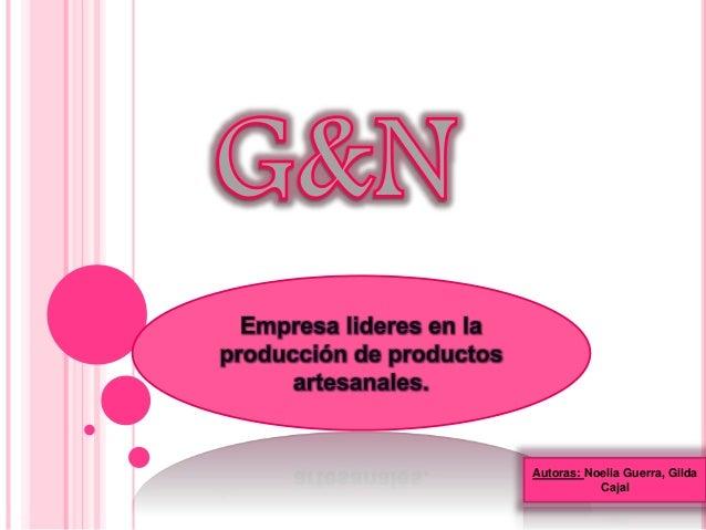 Autoras: Noelia Guerra, Gilda  Cajal