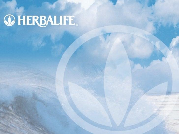 Presentación Oportunidad Negocio Herbalife