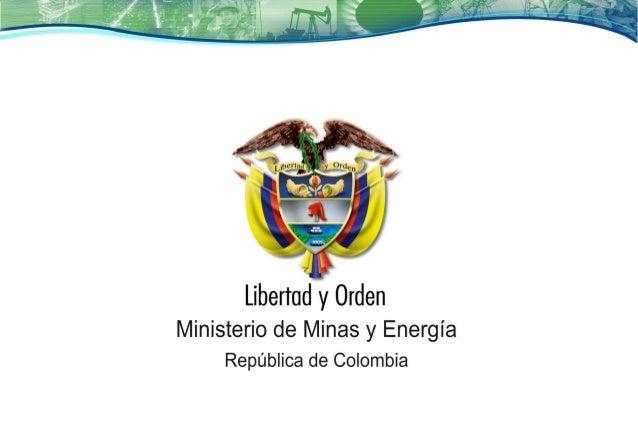 INFRAESTRUCTURA PARA LA COMPETITIVIDAD DE LA COLOMBIA MINERA