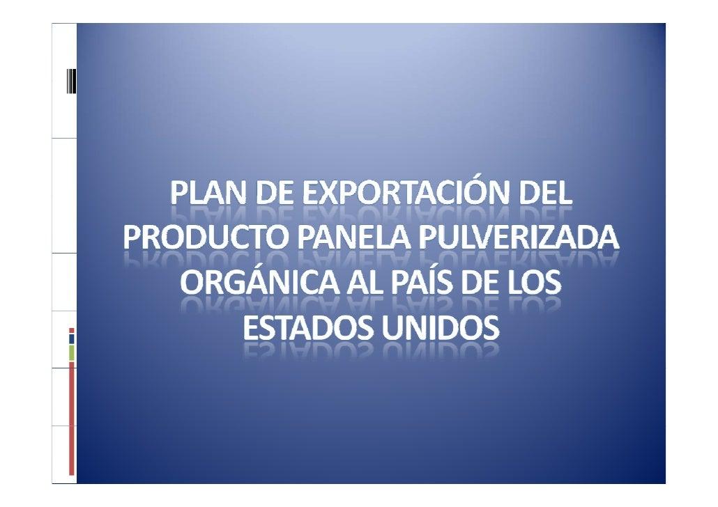 PresentacióN Panela Para Exportar 2