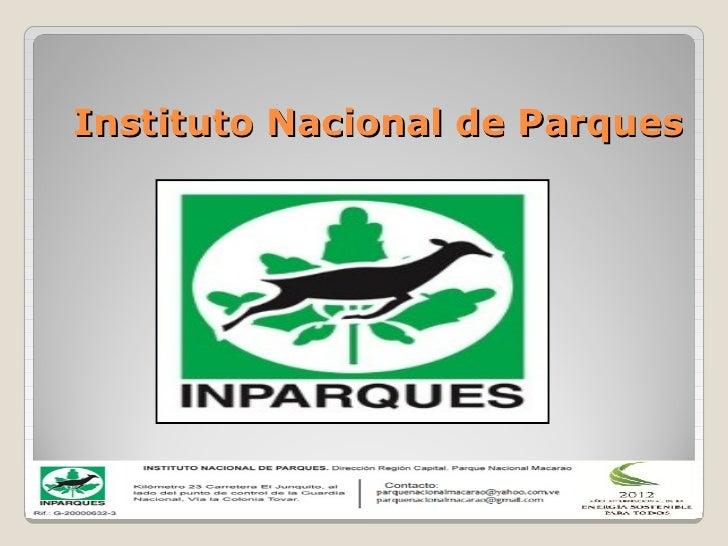 Instituto Nacional de Parques