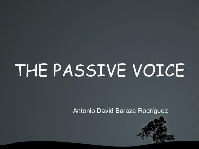 Presentación passive