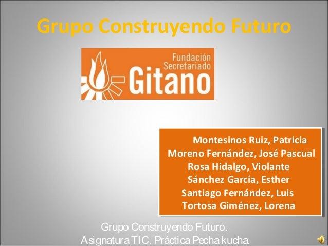 Presentación pechacucha fundación secretariado gitano.