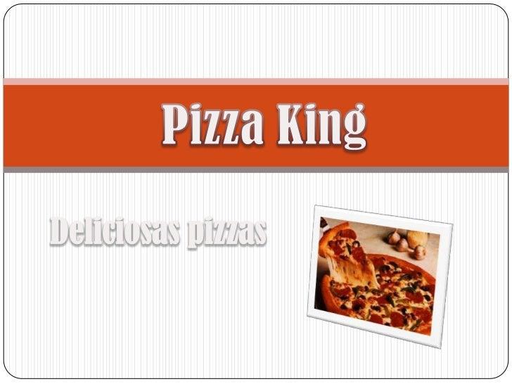 Deliciosas pizzas para preparar La pizza es la comida rápida mas  rica y deseada de todo el  mundo, la pizza es deliciosa...