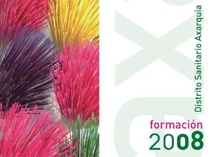 Presentacion PLAN DE FORMACION 2008