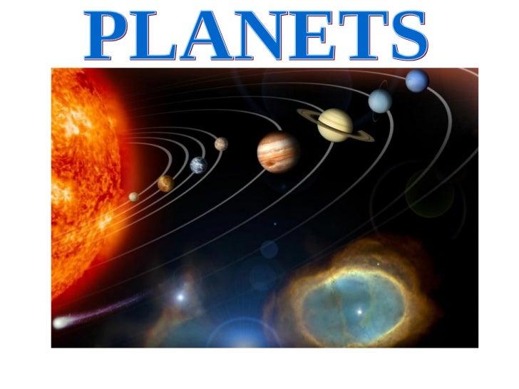 Presentación planets