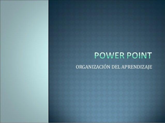 Presentación power