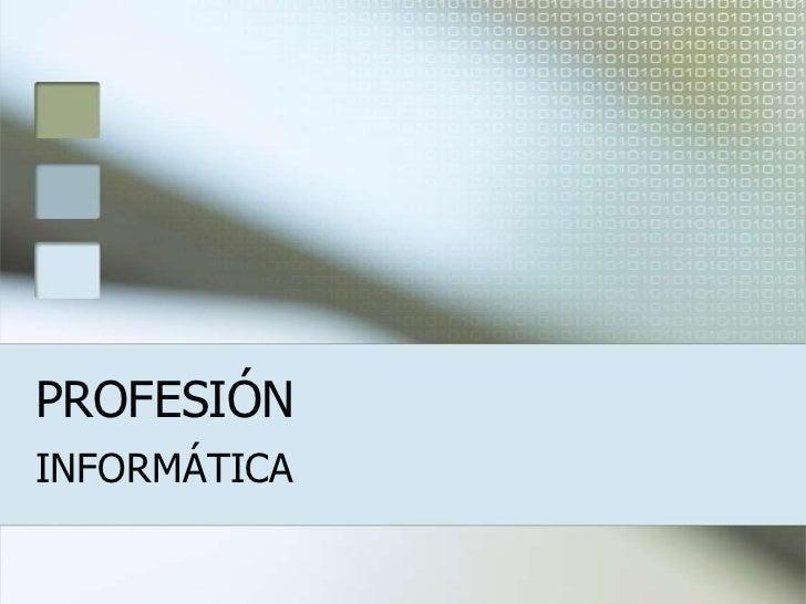 Presentación powerpoint informática