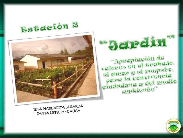 Presentación ppa jardin