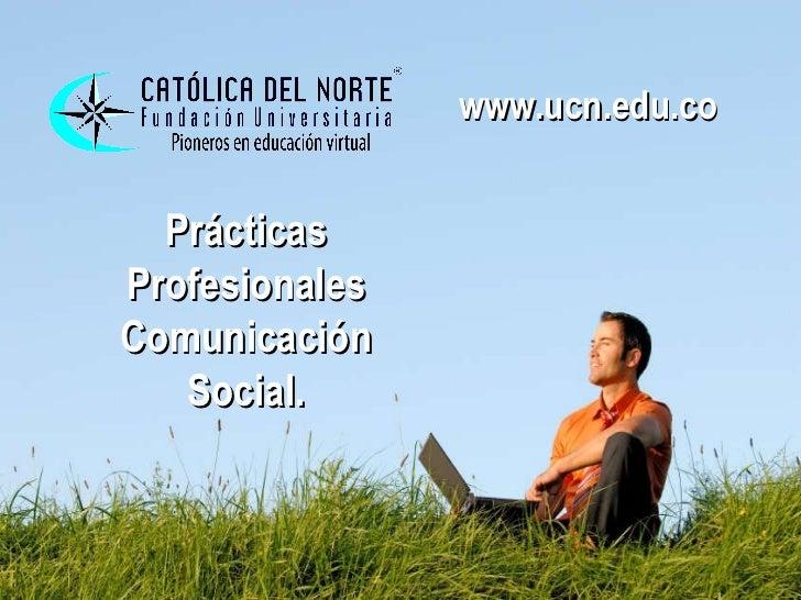 Presentación prácticas profesionales v 2   2011