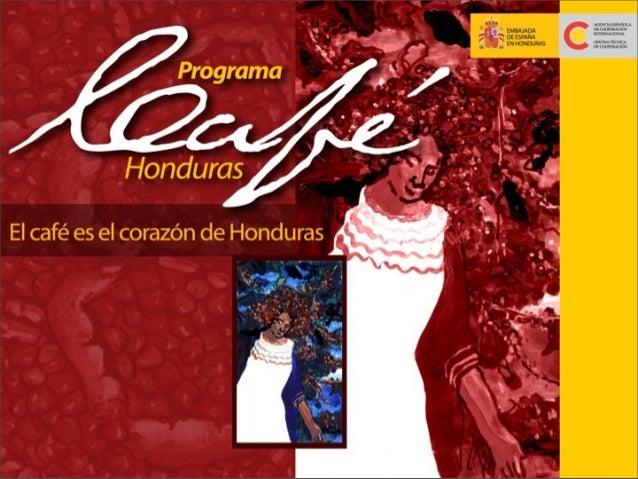 Programa de Apoyo de la Cooperación Española al sector cafetalero hondureño 0906