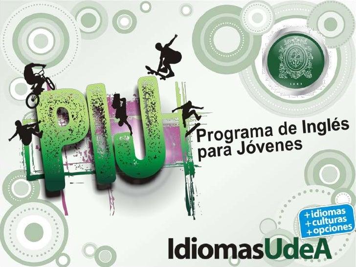 Presentación programa PIJ