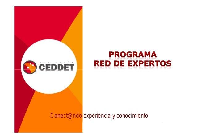 Presentación programa redes_2012