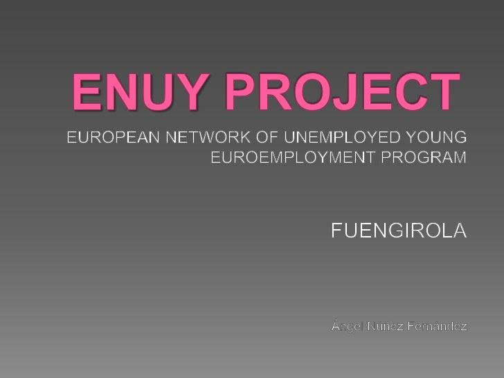 Presentación proyecto enuy ingles