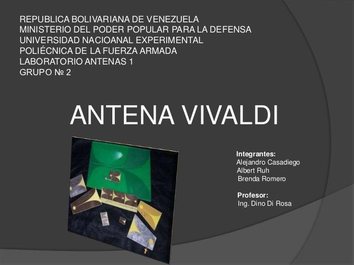 REPUBLICA BOLIVARIANA DE VENEZUELAMINISTERIO DEL PODER POPULAR PARA LA DEFENSAUNIVERSIDAD NACIOANAL EXPERIMENTALPOLIÉCNICA...
