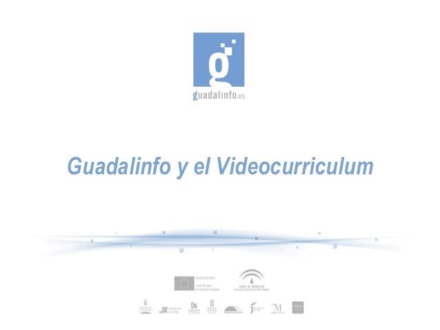 Guadalinfo y el Videocurriculum