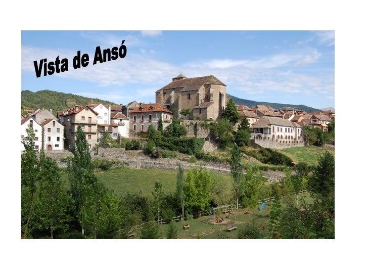Vista de Ansó