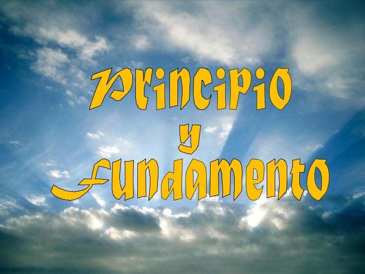 """""""El hombre es creado para alabar,hacer reverencia y servir a Diosnuestro Señor, y mediante esto, salvarsu alma. Las otras ..."""