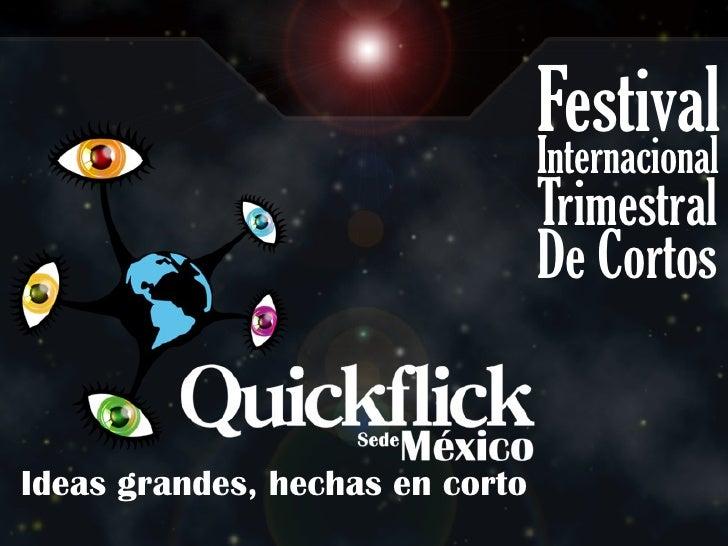 Festival                                 Internacional                                 Trimestral                         ...