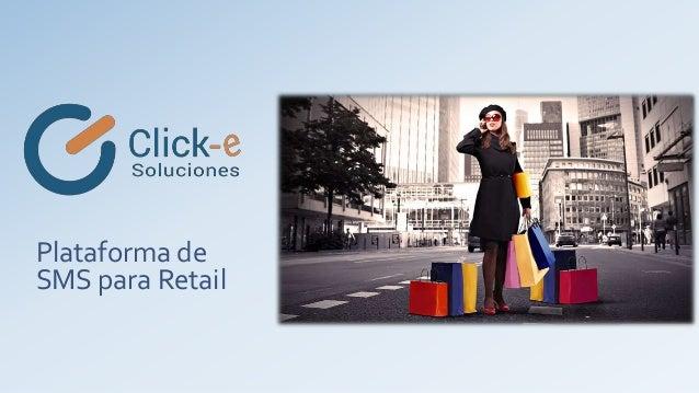 Plataforma de SMS para Retail