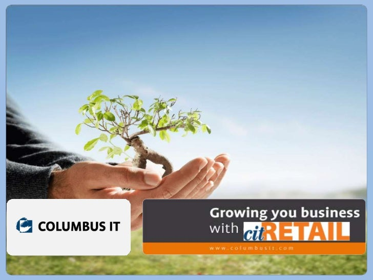 Presentación capacidades  Retail de COLUMBUS IT