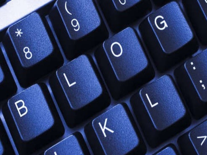Presentation on blogs