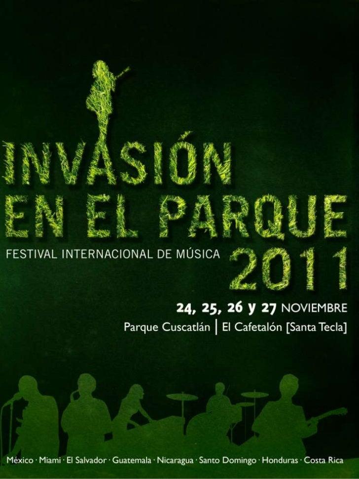 Presentación Invasion en el Parque