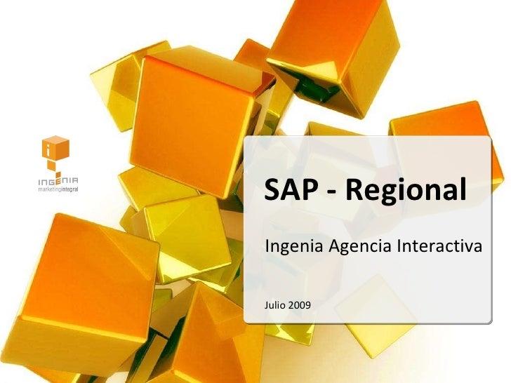 Presentación Sap Regional 2009