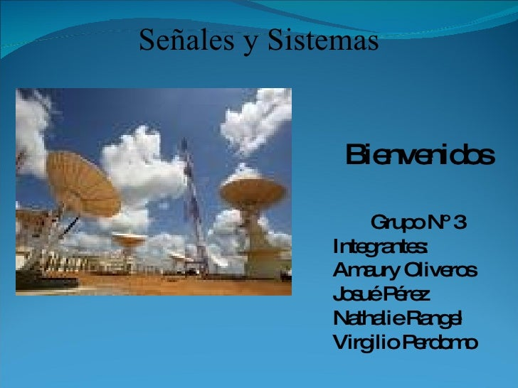 Presentación Señales Y Sistemas II