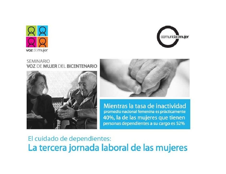 Presentación       I. Alza sostenida de la participación de mujeres en el mercado laboral en las últimas dos   décadas    ...