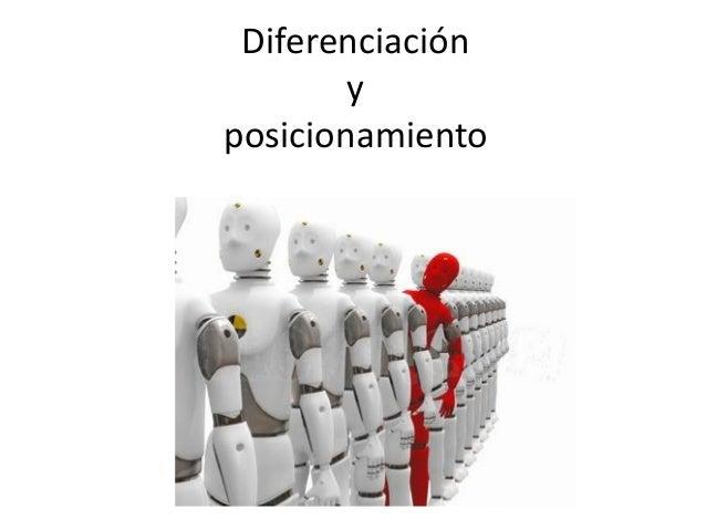 Diferenciación y posicionamiento