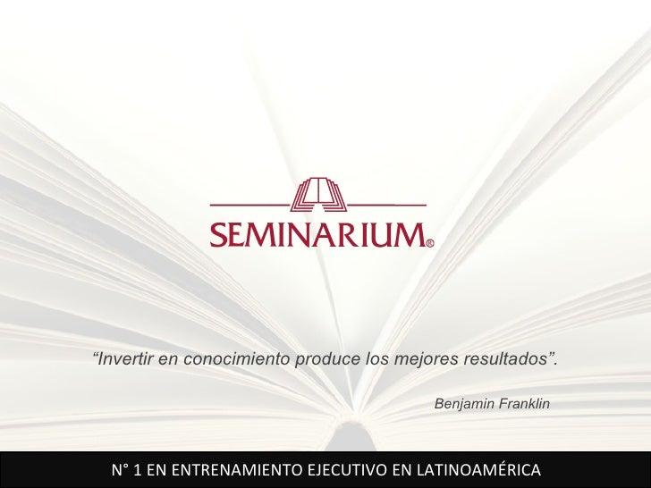 """""""Invertir en conocimiento produce los mejores resultados"""".                                          Benjamin Franklin  N° ..."""