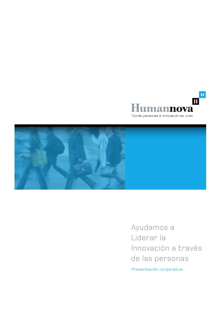 Presentación servicios Humannova