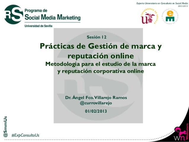 Experto Universitario en Consultoría en Social Media                                                                      ...