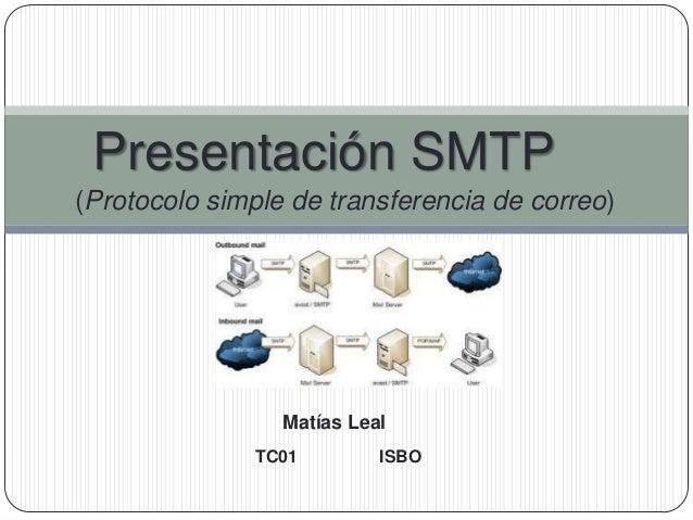 Presentación SMTP