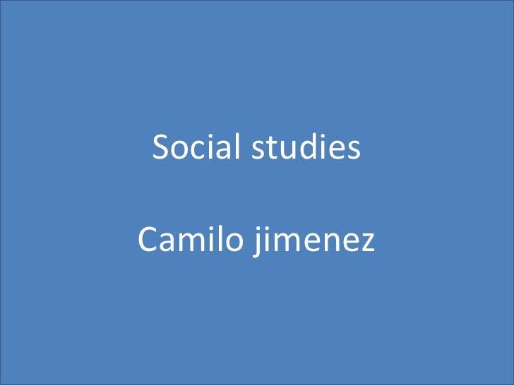 Presentación sociales