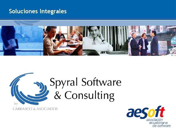 PresentacióN Spyral Software and Consulting