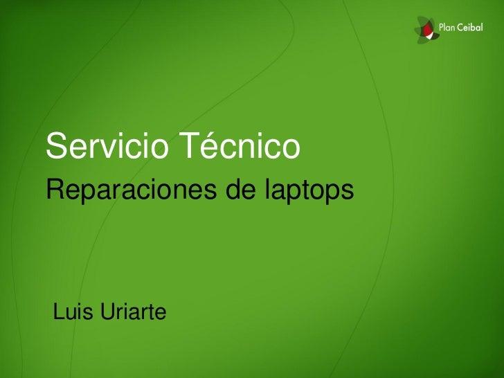 Presentación reparaciones 2012