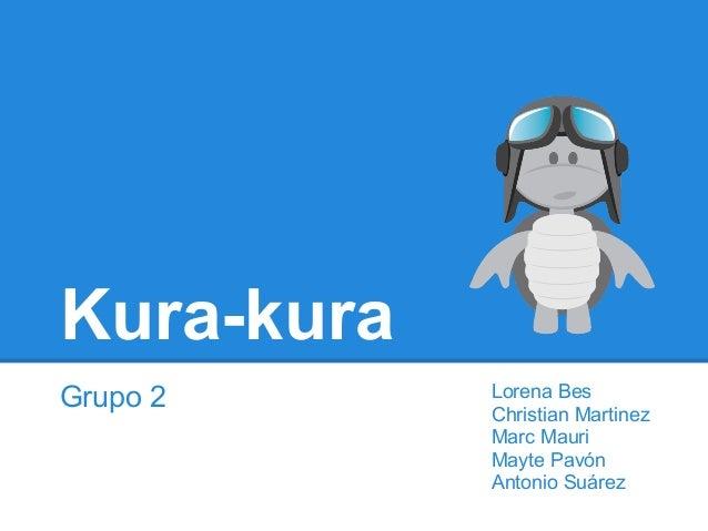 Kura-kuraGrupo 2 Lorena BesChristian MartinezMarc MauriMayte PavónAntonio Suárez