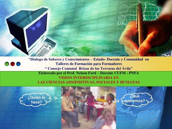 Presentación tentativa del taller   comunas en construccion cufm pnfa 2012