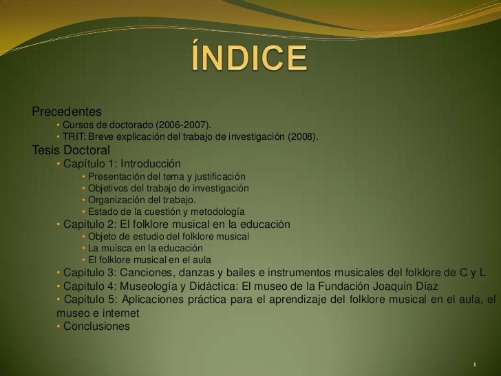 Presentación tesis doctoral María Jesús Marcos