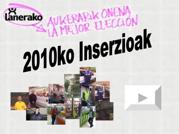 2010ko Inserzioak