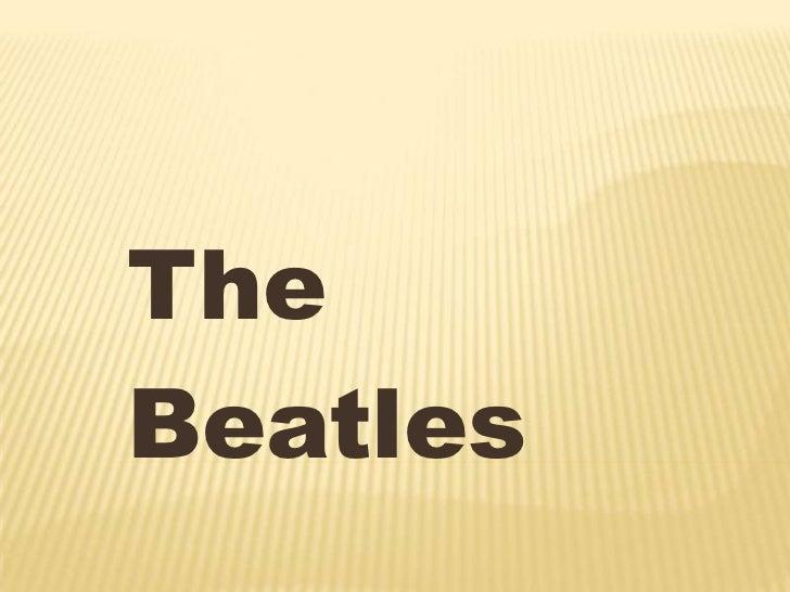 integrantes de la banda The Beatles