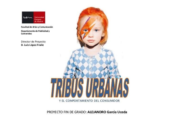 Presentación tribus urbanas y comportamiento del consumidor