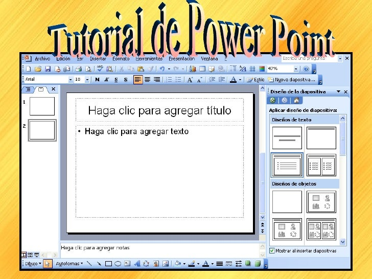 Tutorial de Power Point